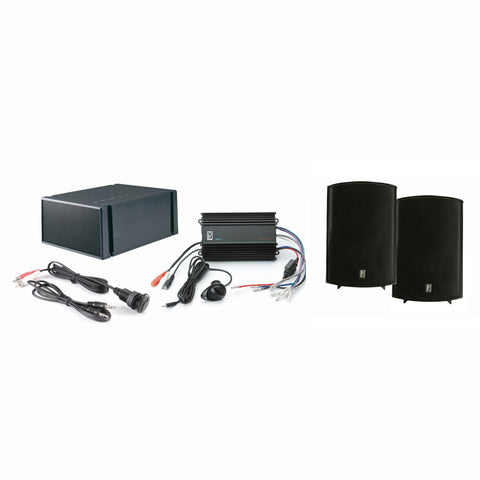 Poly-Planar MP3-KIT7-B MP3 Input - MA7500B - MS55S - ME-60 - Black [MP3-KIT7-B]