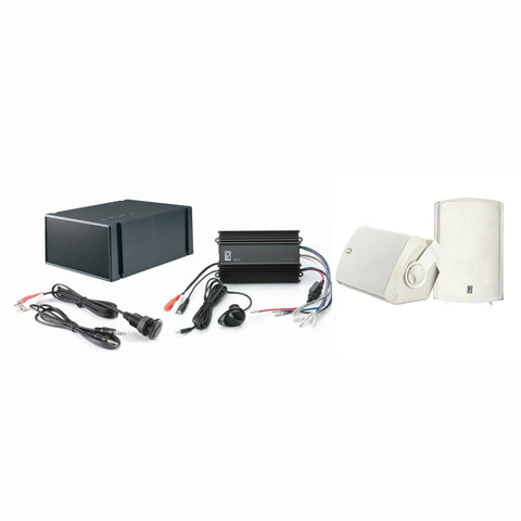 Poly-Planar MP3-KIT7-W MP3 Input - MA7500W - MS55S - ME-60 - White [MP3-KIT7-W]