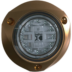 Lumitec SeaBlazeX - Underwater Light - Bronze Finish - White Fade-White Strobe [101140]