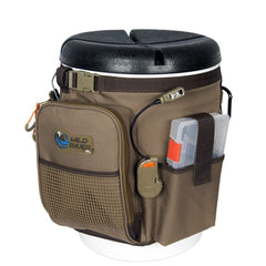 Wild River RIGGER 5 Gallon Bucket Organizer w-Lights, Plier Holder & Lanyard, 2 PT3500 Trays & Bucket w-Seat [WT3507]