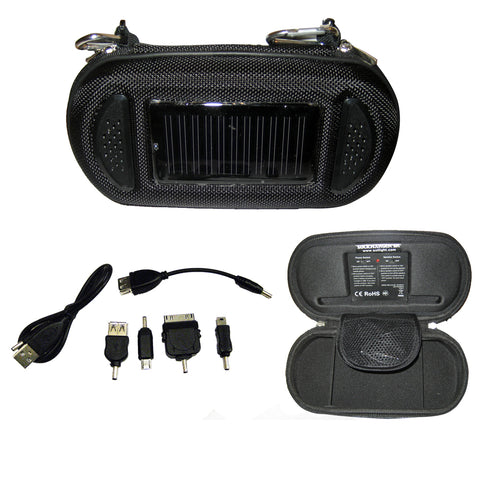 Davis SoliCharger-SP - Universal Solar Charger w-Speakers [3480]