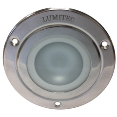 Lumitec Shadow - Flush Mount Down Light - Polished SS Finish - Warm White Dimming [114119]