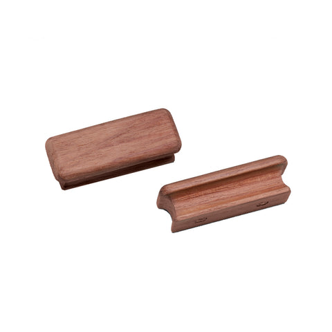 "Whitecap Teak Rectangular Drawer Knob - 2-3-4""L - 2 Pack [60131-A]"