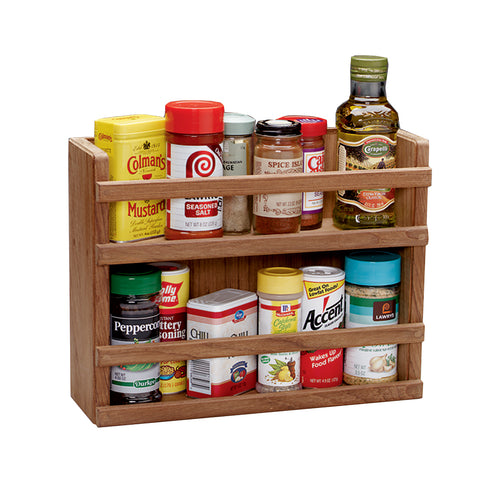 Whitecap Teak Two-Tier Spice Rack [62440]