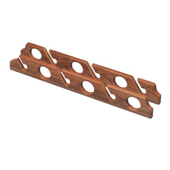 Whitecap Teak Six-Rod Storage Rack - Pair [60614]