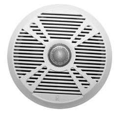 "Poly-Planar MA7065 6.5"" 2-Way Marine Speaker w-2 Grills - White & Graphite [MA7065]"