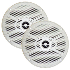 "SeaWorthy SEA5632W 6.5"" Round 2-Way Speakers - 100W - White *Bulk Package* [SEA5632W]"
