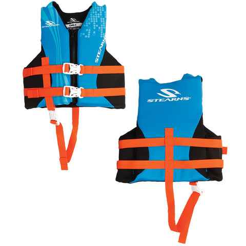Stearns Child Hydroprene Vest Life Jacket - 30-50lbs - Blue [2000019830]