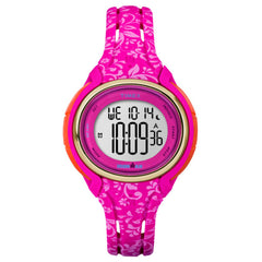 Timex Ironman Sleek 50 Mid-Size Watch - Pink Floral [TW5M030009J]
