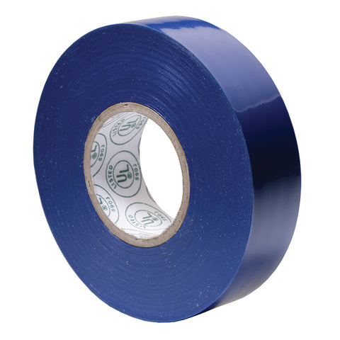 "Ancor Premium Electrical Tape - 3-4"" x 66' - Blue [332066]"
