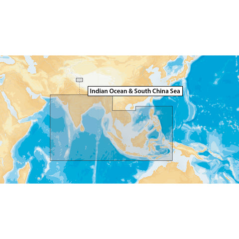 Navionics+ Indian Ocean & South China Sea - microSD [MSD-NAV+31XG-ROW]