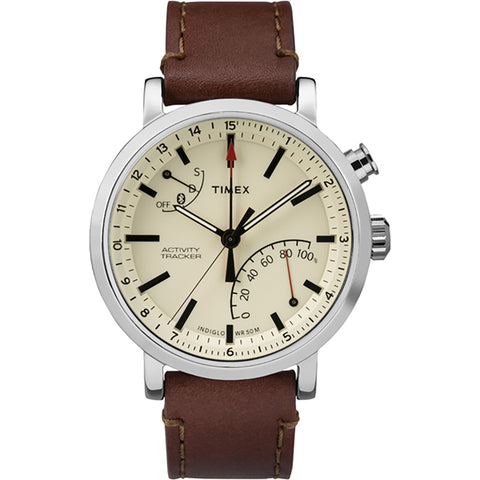 Timex Metropolitan+ Watch - Tan Dial-Brown Leather [TW2P92400F5]