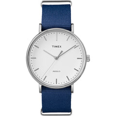 Timex Weekender Fairfield 41mm Slip-Thru Watch - Blue [TW2P97700JV]