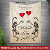 [Personalized] Till the death blanket