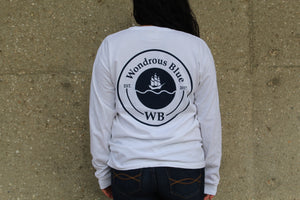 Long Sleeve Ship Graphic Pocket T-Shirt