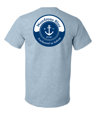 Short Sleeve Anchor Graphic Pocket T-Shirt