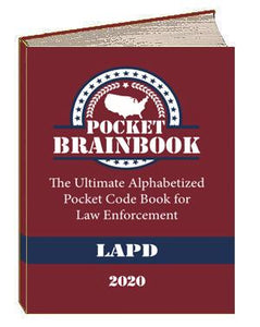 2. LAPD Pocket Brainbook - 2020