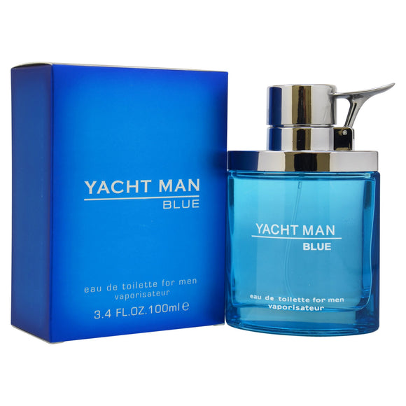 Yacht Man Blue 3.4 oz / 100 ml Eau de Toilette Spray