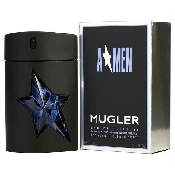 Thierry Mugler Angel Men (A*Men) Refillable 3.4 oz / 100 ml Eau de Toilette Spray