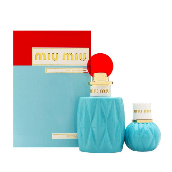Miu Miu Women 2-Piece Gift Set (3.4 oz Spray)