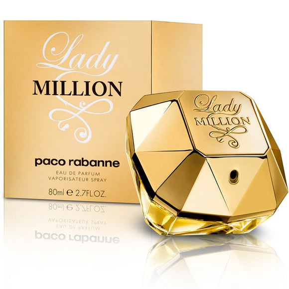 LADY MILLION WOMEN 2.7 OZ EDP SPRAY