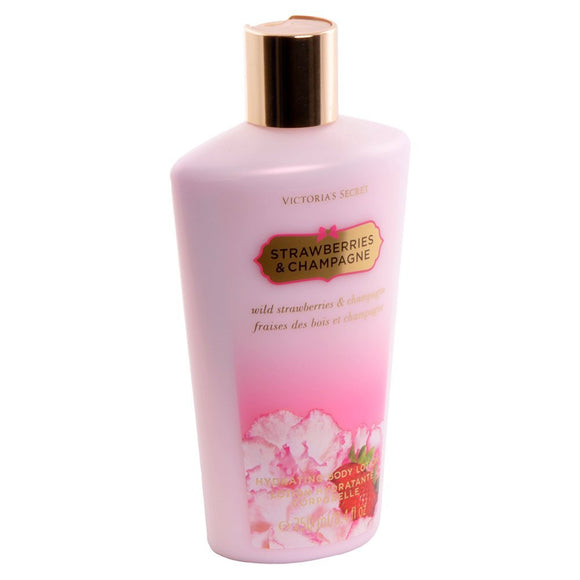 Victoria's Secret Strawberries & Champagne 8.4 oz / 250 ml Body Lotion