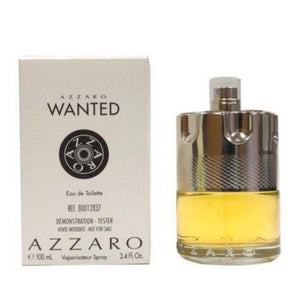 Azzaro Wanted Men 3.4 oz / 100 ml Eau de Toilette Tester