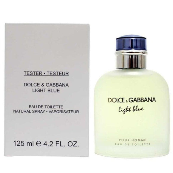 Light Blue Men 4.2 oz / 125 ml Eau de Toilette Tester