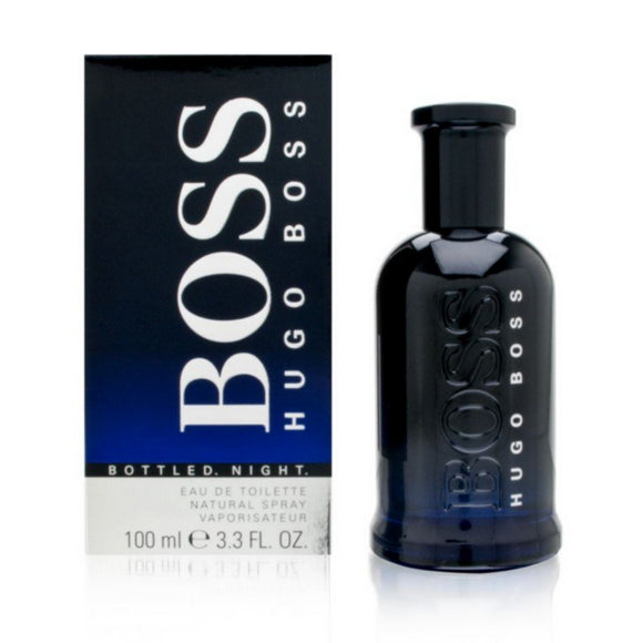 Boss Bottled Night by Hugo Boss Men 3.4 oz / 100 ml Eau de Toilette Spray