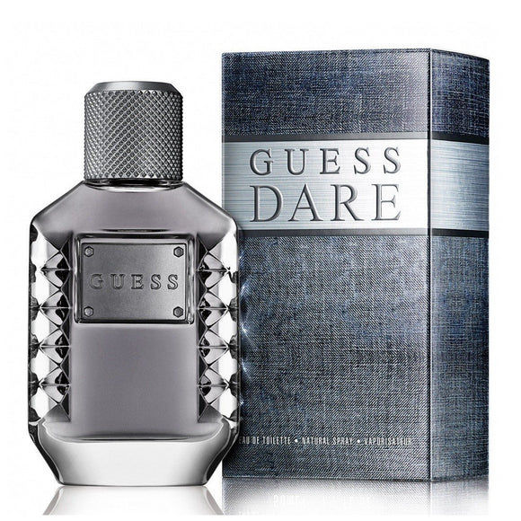 Guess Dare Men 3.4 oz / 100 ml Eau de Toilette Spray
