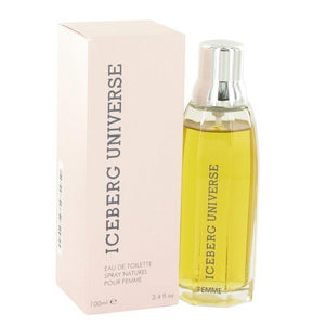 Iceberg Universe Women 3.4 oz / 100 ml Eau de Toilette Spray