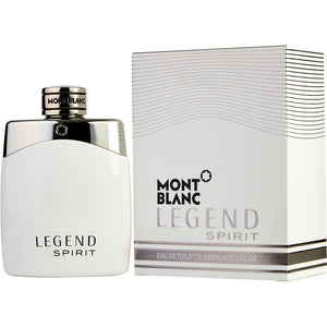 Mont Blanc Legend Spirit Men 3.3 oz / 100 ml Eau de Toilette Spray