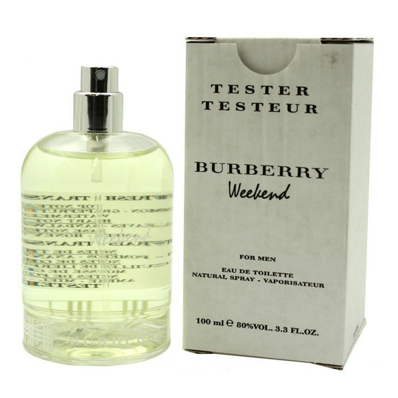 Burberry Weekend for Men 3.3 oz / 100 ml Eau De Toilette Spray Tester