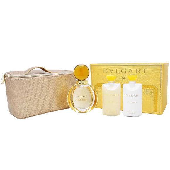 Bulgari Goldea Women 4-Piece Gift Set