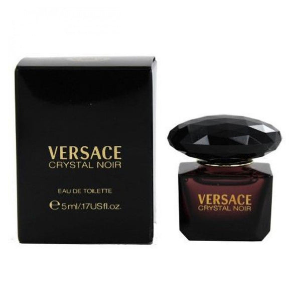 Versace Crystal Noir Women 5 ml / 0.17 oz / 5 ml Eau de Toilette Mini
