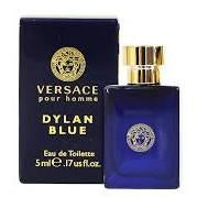 Versace Dylan Blue for Men 0.17 oz / 5 ml Eau De Toilette Mini