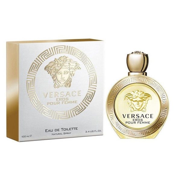 Versace Eros Women 3.4 oz / 100 ml Eau de Toilette Spray