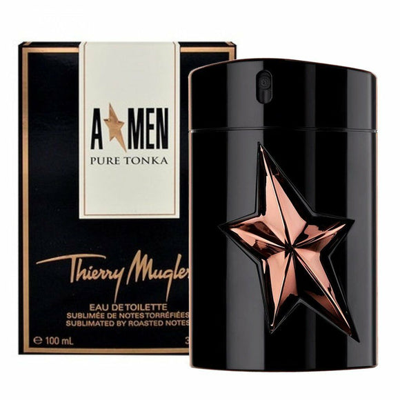 Angel Men Pure Tonka 3.4 oz / 100 ml Eau De Toilette Spray