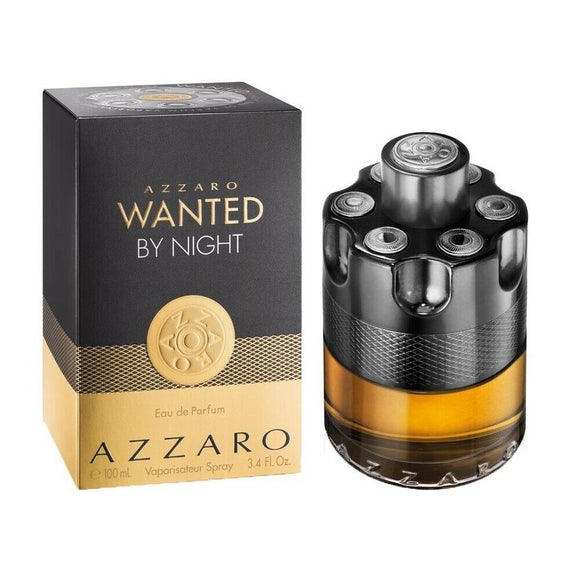 Azzaro Wanted By Night Men 3.4 oz / 100 ml Eau de Parfum Spray