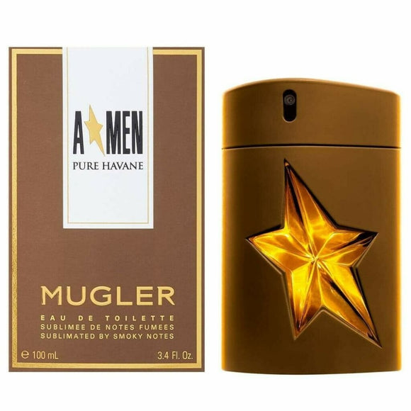 Angel Men Pure Havane 3.4 oz / 100 ml Eau de Toilette Spray