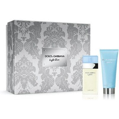 Dolce & Gabbana Light Blue Women 2-Piece Gift Set