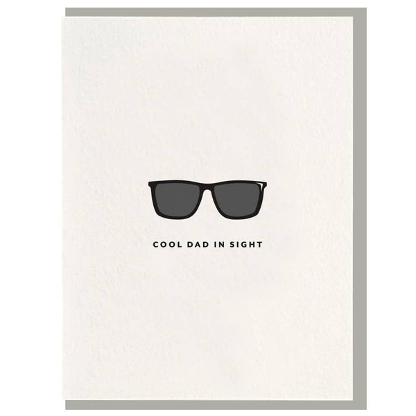 Cool Dad Letterpress Card