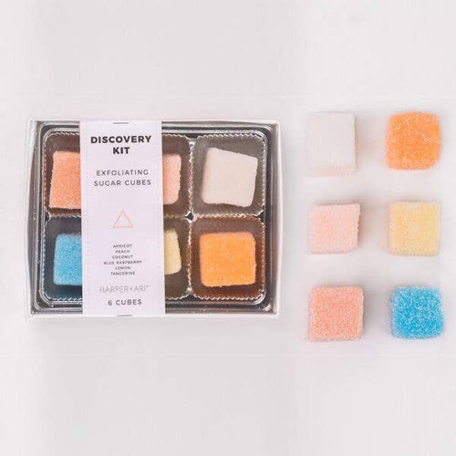 Exfoliating Sugar Cubes Discovery Box