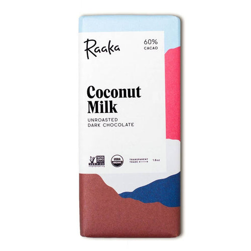 60% Coconut Milk Chocolate Bar