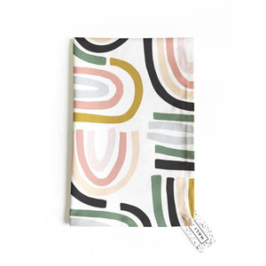 Load image into Gallery viewer, Tea Towel - Rainbow Print