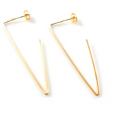 Open V Earrings
