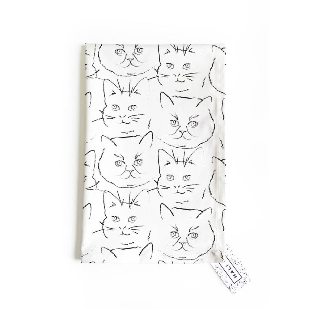 Load image into Gallery viewer, Tea Towel - Kitty Print