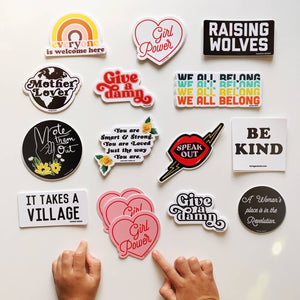 Load image into Gallery viewer, Die Cut Vinyl Stickers - Assorted