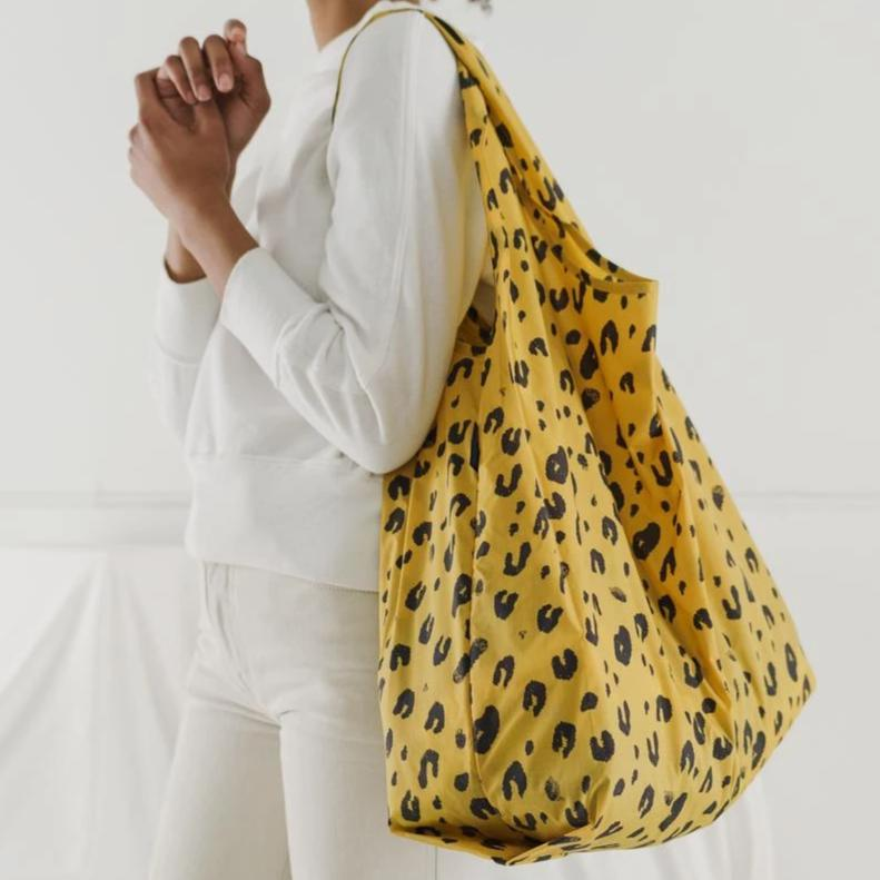 Leopard Reusable Bag - Favor & Fern