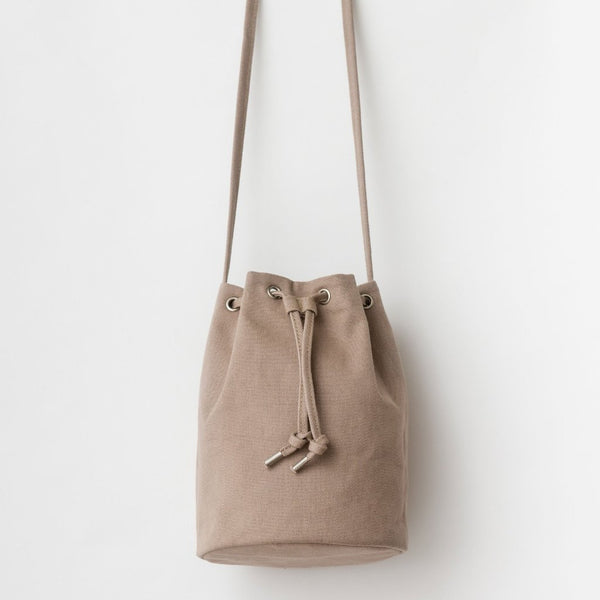 Canvas Drawstring Purse